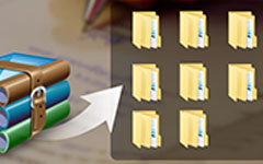 Jak otevřít soubory RAR