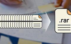ファイルを圧縮する