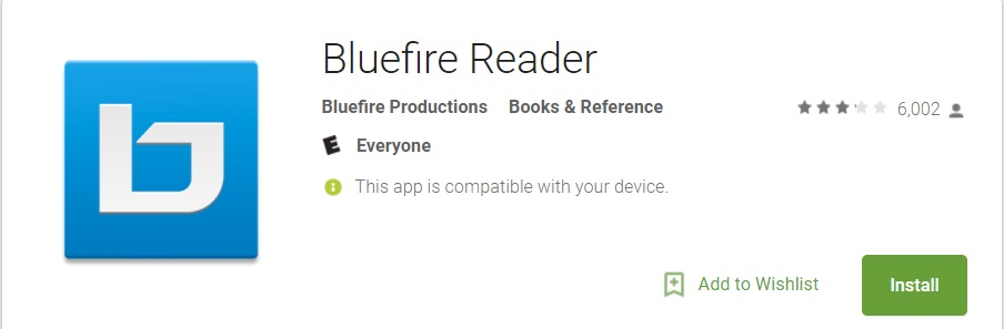 Lecture Bluefire Reader