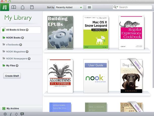 Part 1: Read Nook Books on PC