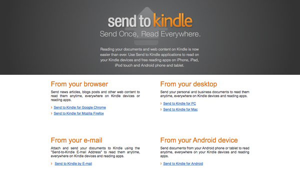 Send til Kindle