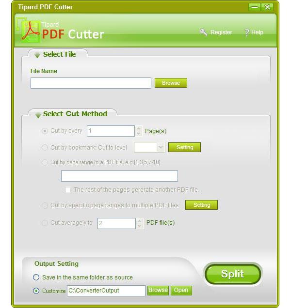 PDF Cutter