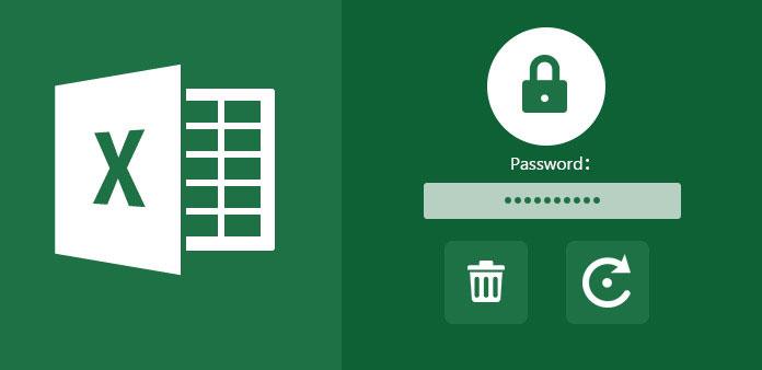 Poista tai palauta salasana Excelistä