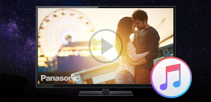 Fjern DRM-kopibeskyttelse og se iTunes-videoer på Panasonic TV