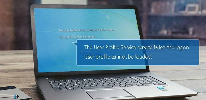 What to Do When The User Profile Service Failed The Logon