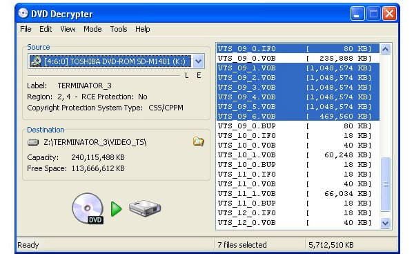 Top 10 DVD Ripper DVD Decrypter Alternative On Windows And Mac