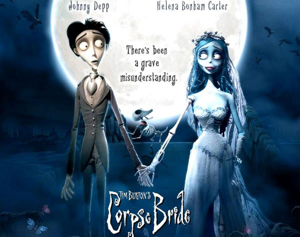 Trim Burtonin Corpse Bride