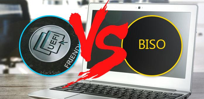 UEFI: n ja BIOSin väliset erot