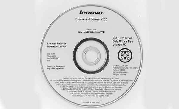 Windows 7 Recovery Disk