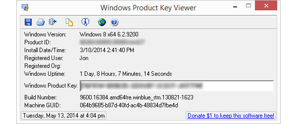 Windows Key Viewer
