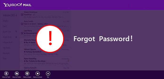 how to change password on yahoo sub account