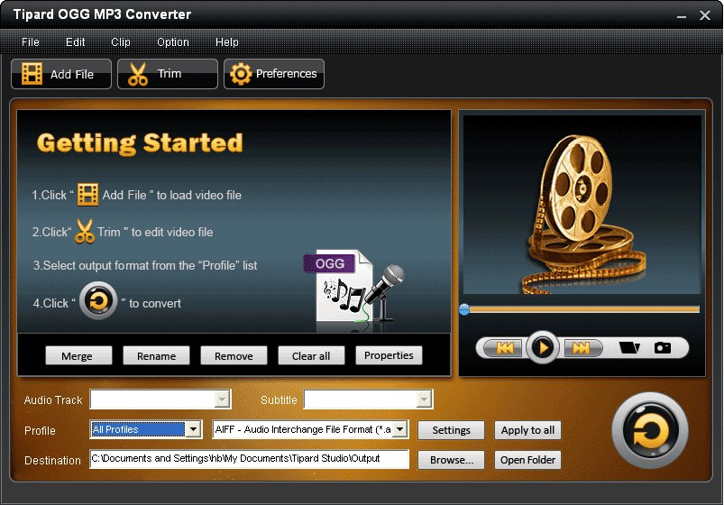 OGG MP3 Converter - Convert between OGG and MP3 | Tipard