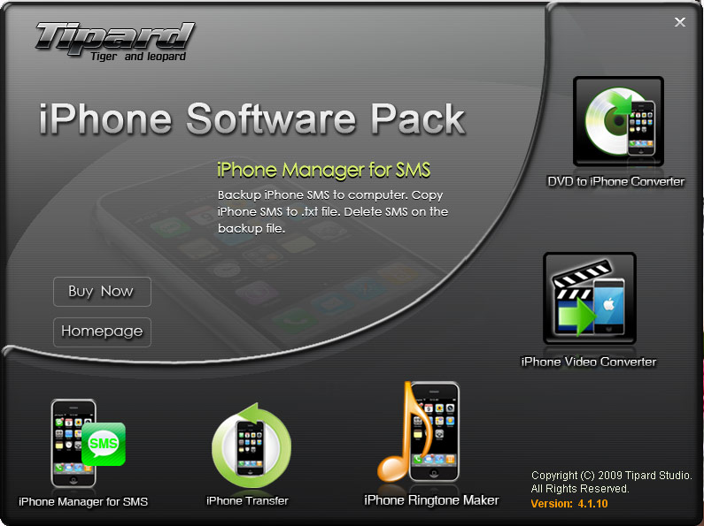 Click to view Tipard iPhone Software Pack screenshots