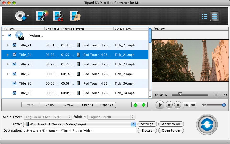 See more of Tipard DVD to iPod Converter for Mac