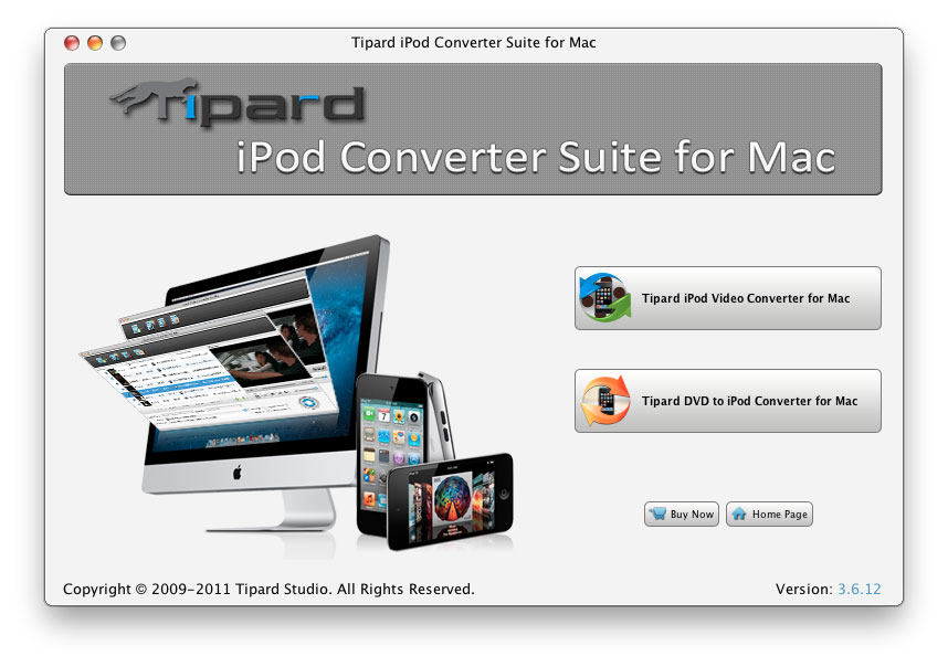 Tipard iPod Converter Suite for Mac
