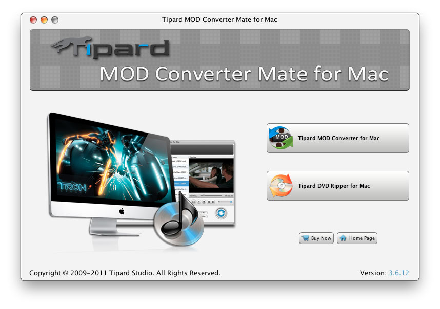 Tipard Mod Converter Mate for Mac 3.6.08 full