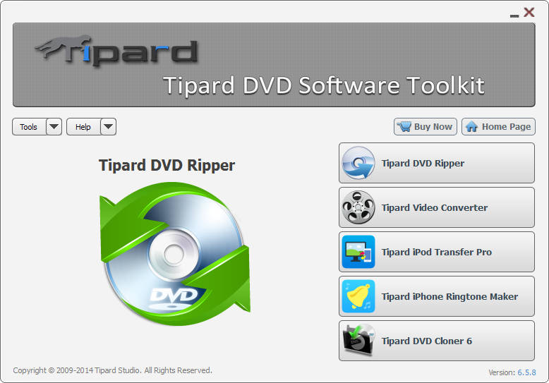 Tipard DVD Software Toolkit 4.2.06