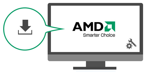 Download og installer AMD Graphics Driver