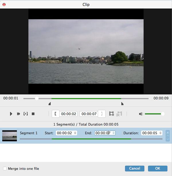 klip en video