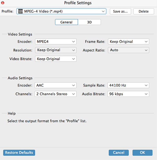 WMV till MP4 Converter för Mac, Mac WMV MP4 Converter