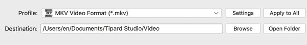Convertir WMV en MKV sur Mac