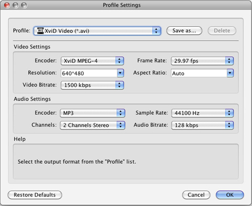 AVCHD MTS to AVI Converter for Mac, Mac AVI Converter