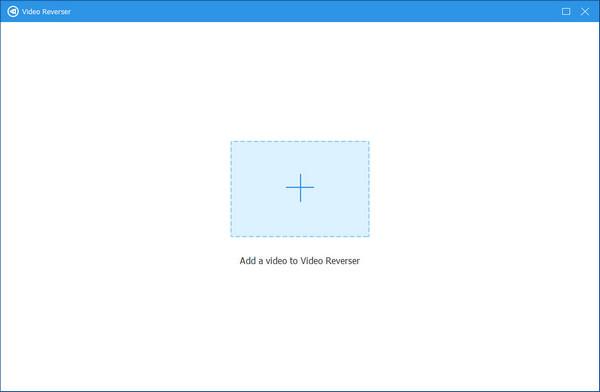 أضف الفيديو إلى Video Reverser