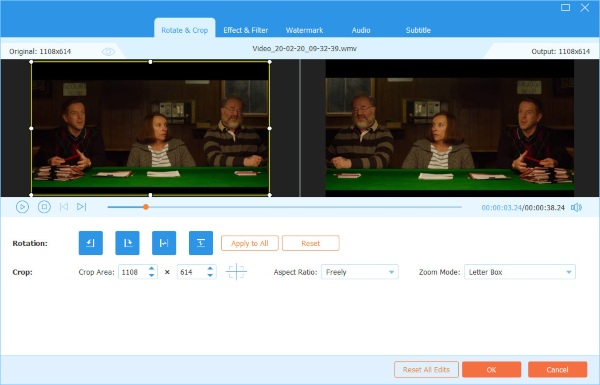 Video Converter Ultimate Rotate