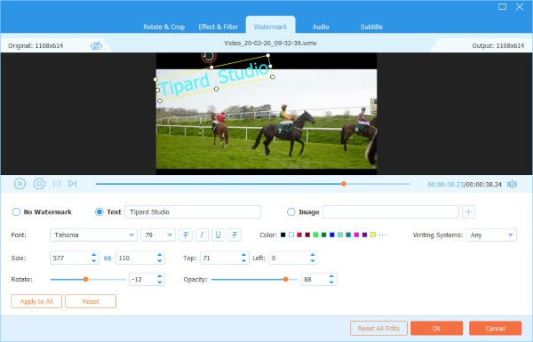 Video Converter Ultimate Watermark