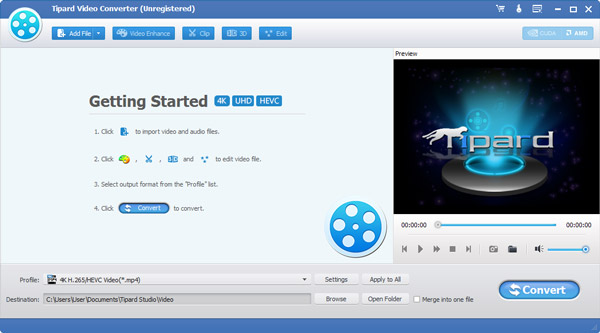 تنزيل وتثبيت Tipard Pocket PC Video Converter