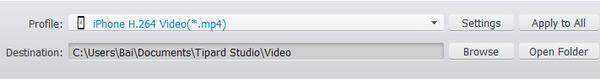 Μετατροπή βίντεο σε H.264