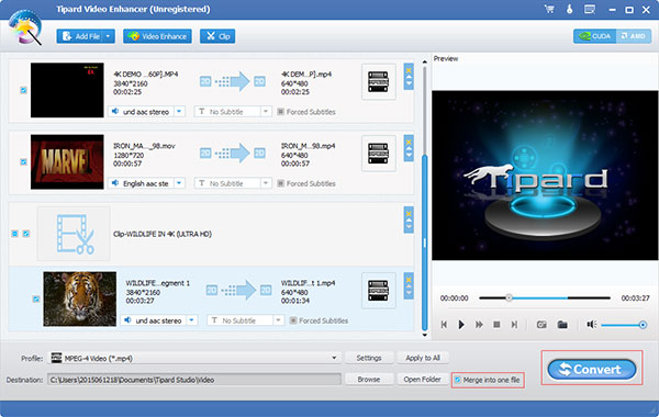 Tipard Video Enhancer \u2013 Enhance Video quality and convert videos