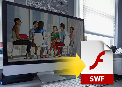 Vidéo au format SWF