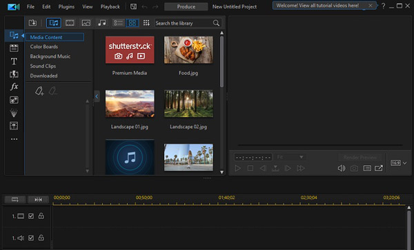 PowerDirector Movie Maker YouTube