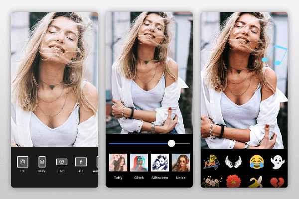 Foto koláž video koláž aplikace