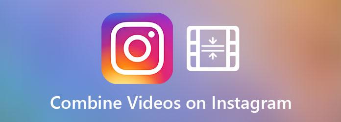 Meerdere video's combineren voor Instagram