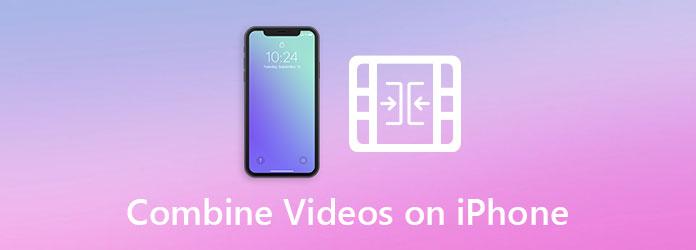 اجمع مقاطع الفيديو على iPhone