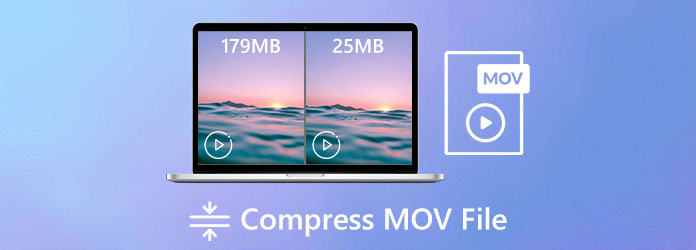 Komprimujte soubor MOV