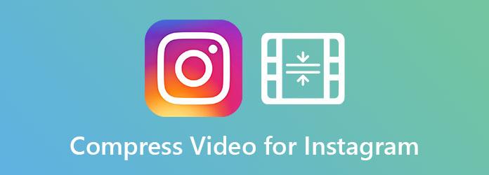 ضغط الفيديو على Instagram