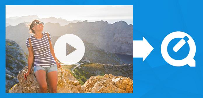 QuickTimeでビデオを変換する