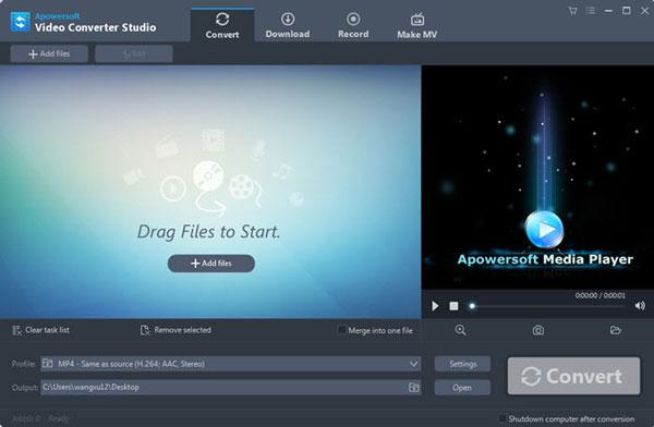 Video Converter Studio