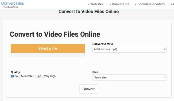 Преобразование файлов
