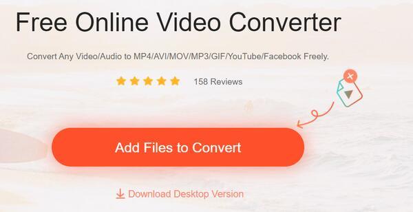 Apeaksoft無料Vonlineビデオコンバーター