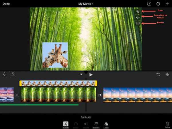 ضبط فيديوهات iPad