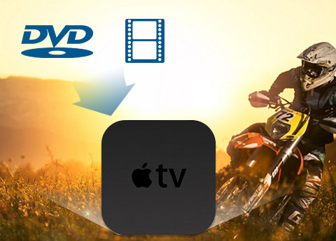 Konverter DVD og video til Apple TV