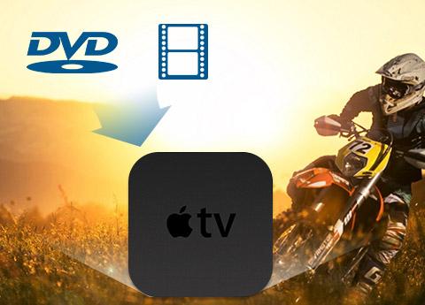 Converti DVD e video in Apple TV