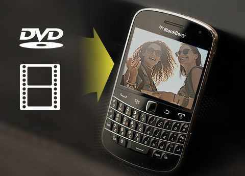 Konverter DVD / video til BlackBerry