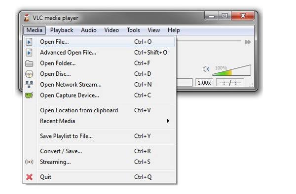 Modifica MP3 con VLC