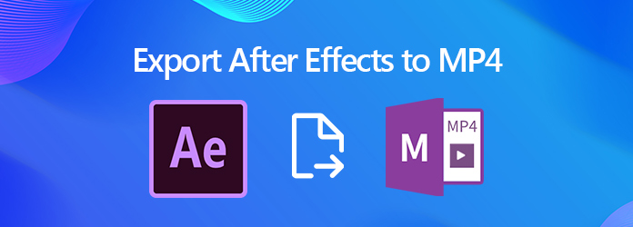 Eksportuj After Effects do MP4