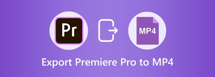 Eksporter Premiere Pro til MP4